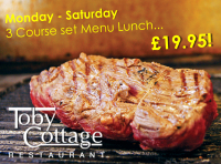 3 Course Lunch...£19.95!