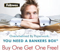 Buy One - Get One Free - Storage Boxes for Your Home or Office!