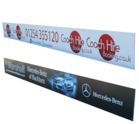 OUTDOOR PVC BANNERS JUST £1.25 PER SQ FT