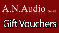 Gif Vouchers fro A N Audio