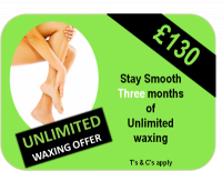 Totally Unlimited Waxing Offer