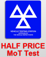 HALF PRICE MOT TEST