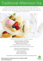 Traditional Afternoon Tea for just £19.95