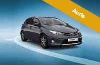 £750 TOWARDS YOUR DEPOSIT AURIS ICON PLUS AT RRG TOYOTA, BURY.