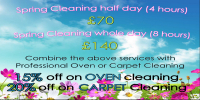 Special spring clean offer