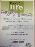 FREE 9 Week Cookery Course