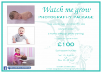 Watch Me Grow - 3 Sessions for £100!