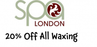 20% Off All Waxing Treatments @spalondon