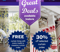 2 Great Curtain Offers from Milners @MilnersAshtead
