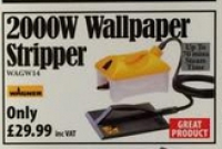 2000w Wallpaper Stripper only £29.99