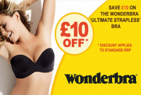 £10 Off The Ultimate Strapless Wonderbra