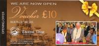 Get £10 Off Your Food Bill at Everest Dine Nepalese & Indian