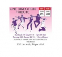 1D TRIBUTE: FREE CHILD PLACE WITH EVERY PAYING ADULT