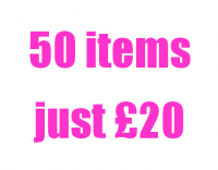 50 items for just £20