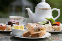Complimentary Big Hoot Afternoon Tea