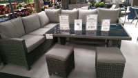 SAVE £200 ON THE ASHBOURNE LOUNGE / DINING SET.