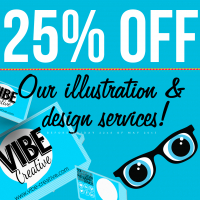 25% Off Vibe Creative