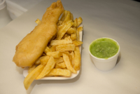Cod and Chips, £4.00 Delivered
