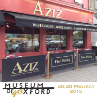 Win a £200 voucher for Aziz Restaurant!