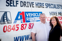 10% Luton Van Hire at A1.