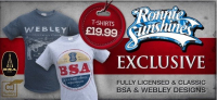 Win a exclusive BSA or Webley T Shirts
