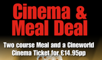 Cinema & Meal Deal £14.95
