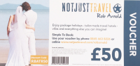 £50 off Package Holidays and tailor made travel.