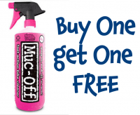 BUY ONE GET ON FREE - MUCK OFF BIKE AND CAR CLEANER  £6.99 BOGOF.