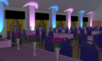 """AMAZING LIGHTING PACKAGE FOR WEDDING RECEPTIONS."""