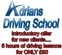 Driving Lessons 5 hours for ONLY £90....