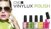 CND VINYLUX NAIL POLISH - 2 FOR £10 AT THE BEAUTY BOX