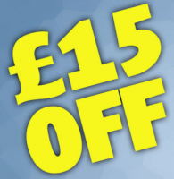 £15 off every carpet and flooring order.