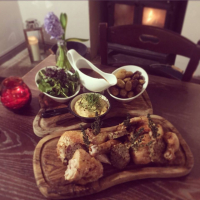 'Roast Chicken Tuesday' at The Red Lion for just £16.95 for 2