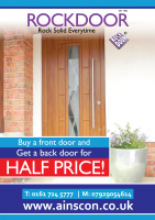 BUY A FRONT DOOR AND GET A BACK DOOR FOR JUST HALF PRICE