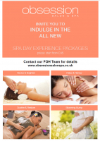 SPA DAY EXPERIENCE LAUNCH OF NEW PACKAGES