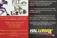 Free Advice & Personal Training Session