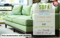 Sofa cleaning offer from Bioshine