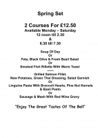 2 courses for £12.50
