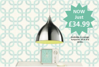 Special Offer -  Introducing The Café Pendant NOW Just £34.99 @SpringEwell