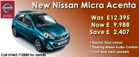 New Nissan Micra Acenta