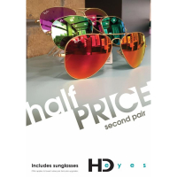 HALF PRICE 2nd Pair at HD Eyes Opticians Telford