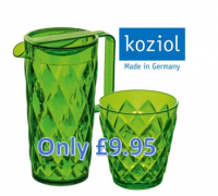 Jug and Glasses Set only £9.95