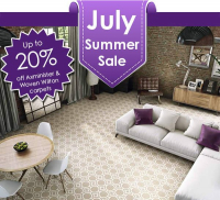 July Special Offer from @MilnersAshtead - Up to 20% Off Axminster & Woven Wilton Carpets