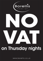 VAT FREE Thursday Nights