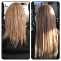 Full Head of Professional Salon Hair Extensions just £180