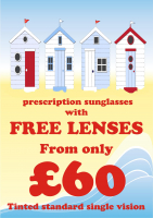 Prescription Sunglasses with FREE LENSES