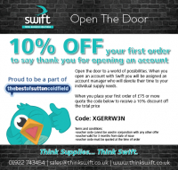 10% Off your first order when you open an account!