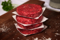 SAVE £1  - it's BBQ time - 2 x 4 Qtr Pound Beef Burgers for £5.00