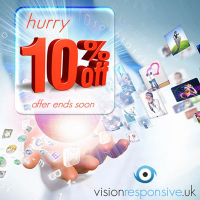10% off web packages to new clients