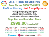 Air-Conditioning Heat Pump Systems Summer Special